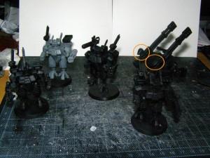 Modular Crisis Suits and Broadside Battle Suit